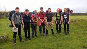 Seven Kennet District Scouts complete their Gold Duke of Edinburgh Expedition challenge