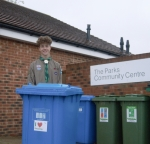 Scouts in The Parks would like your Recycling Vote please